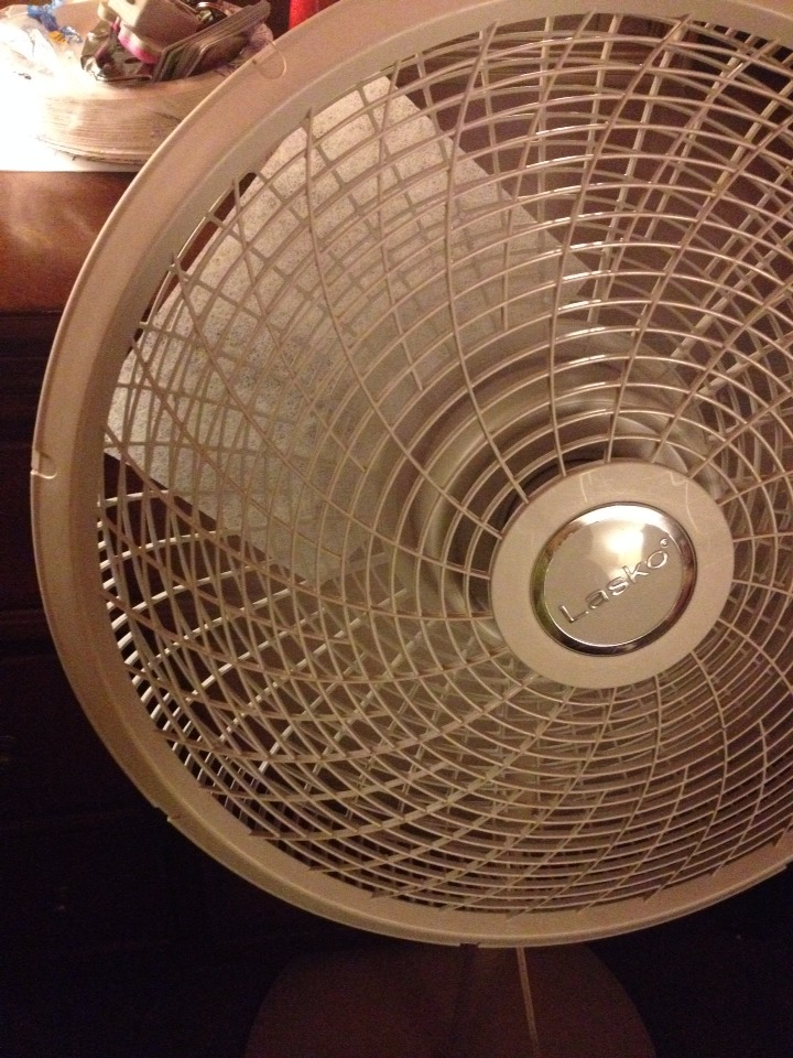 Turn your fan on high, medium or low.