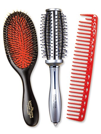 Brush your hair to stimulate hair follicles!!!!