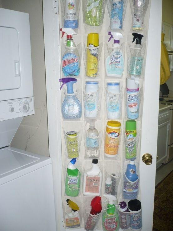 More than one way to use a shoe organizer, look at my other tips and you will see it