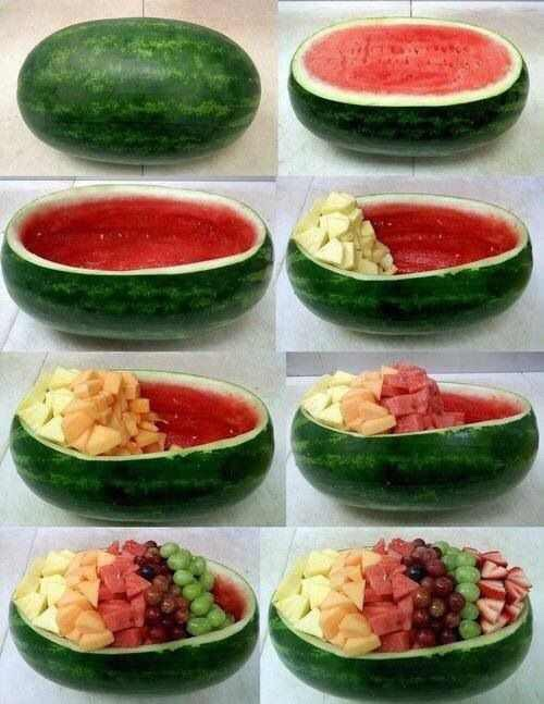 This is great for parties!! And also less dishes to wash!!😜