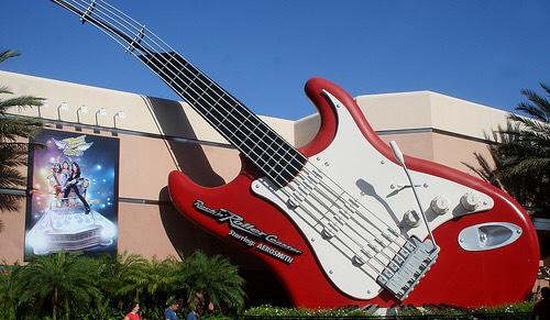 🎸While you are waiting to tour Studio C on Rock 'n' Roller Coaster, try listening at the doors to Studios A and B. You'll hear sounds from real recording sessions.🎶