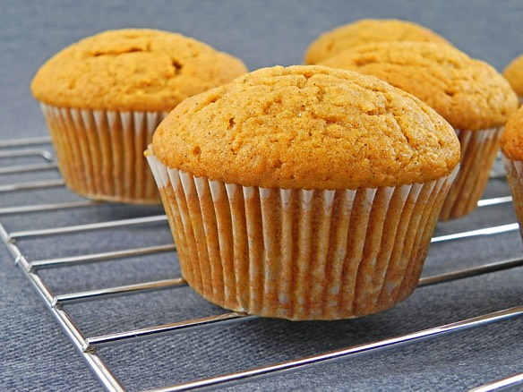 Then take muffins out of the oven and let them cool down and then enjoy