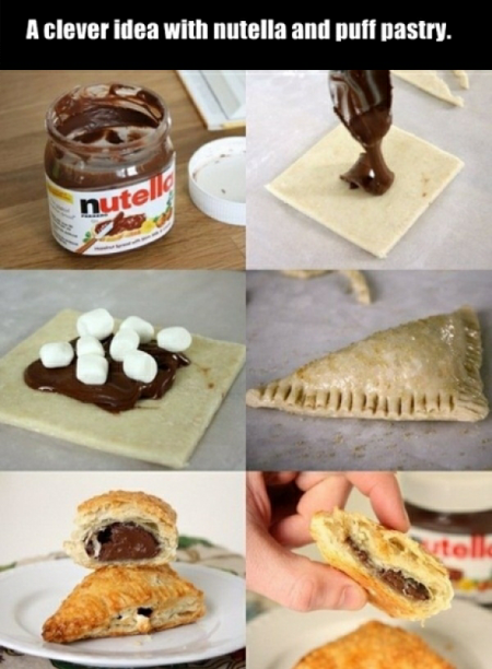 Nutella pastie! If you save please like :)