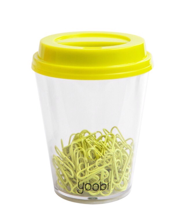 And paper clips
