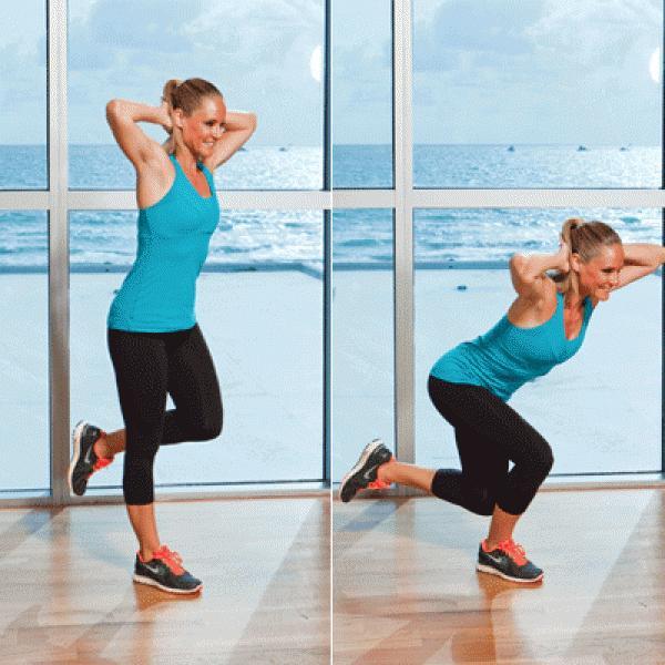 Problem: A Thutt Solution: Single-Leg Squat