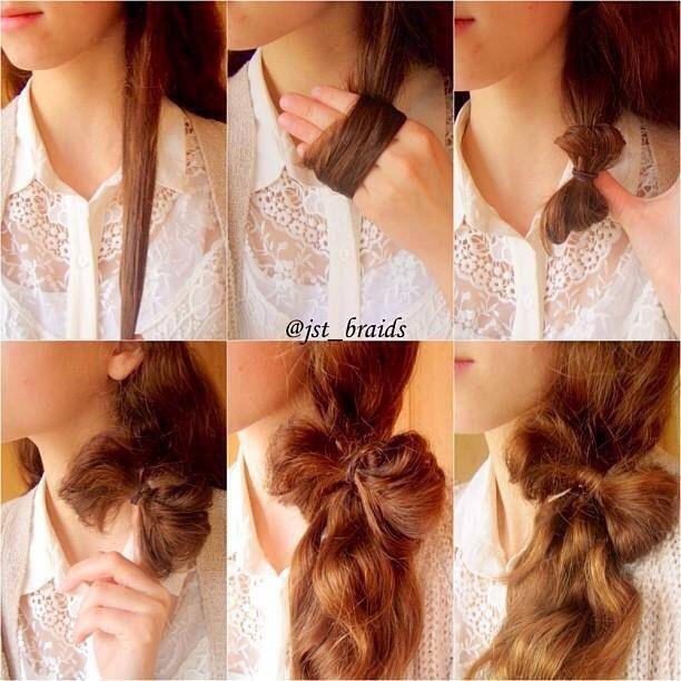 Posh up a simple ponytail 🎀💄  Liiiiiiike 💕