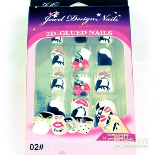 False nails or nail polish