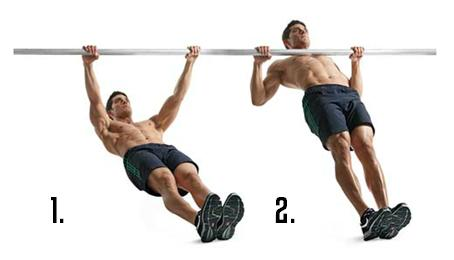 10: Inverted Bodyweight Rows