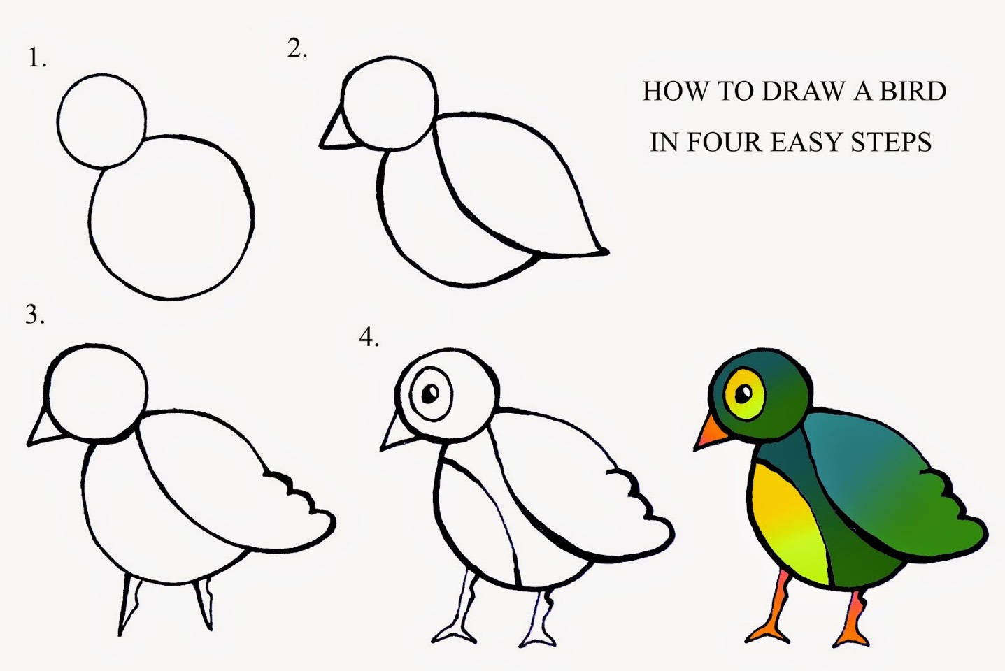 Uncategorized How To Draw A Easy Bird musely how to draw a bird easy
