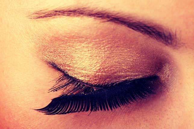 Use Vaseline to help remove eyelash glue.