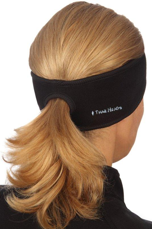 8. Ponytail Headband Guard your ears against the winter chill while still keeping your hair back in a ponytail! This would make my morning run so much more enjoyable. This ponytail headband is made to wick moisture, and it also looks like it would keep flyways and bangs out of your face.