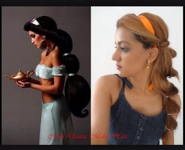 Disneys Princess Jasmine Inspired Hairstyles