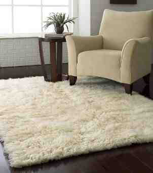 3) a rug  If your floor is hard wood then get a carpet, it'll keep your feet warm!
