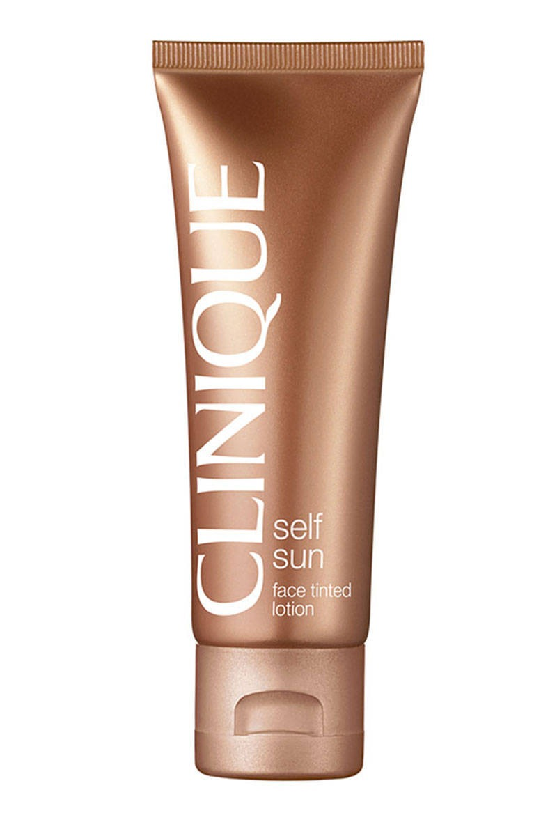 Clinique Tinted Lotion  This tinted formula gives an instant glow that deepens throughout the day.  $22; clinique.com