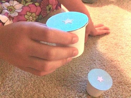 10. Turn a few k-cups into a sound-matching game for preschoolers.