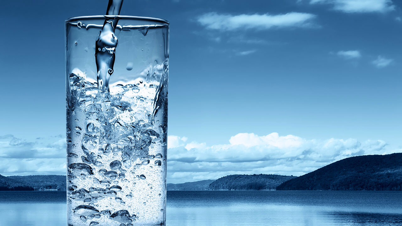 Drinking water will keep the skin moist and supple and clears out toxins.  Drink at least 8 glasses of water a day.