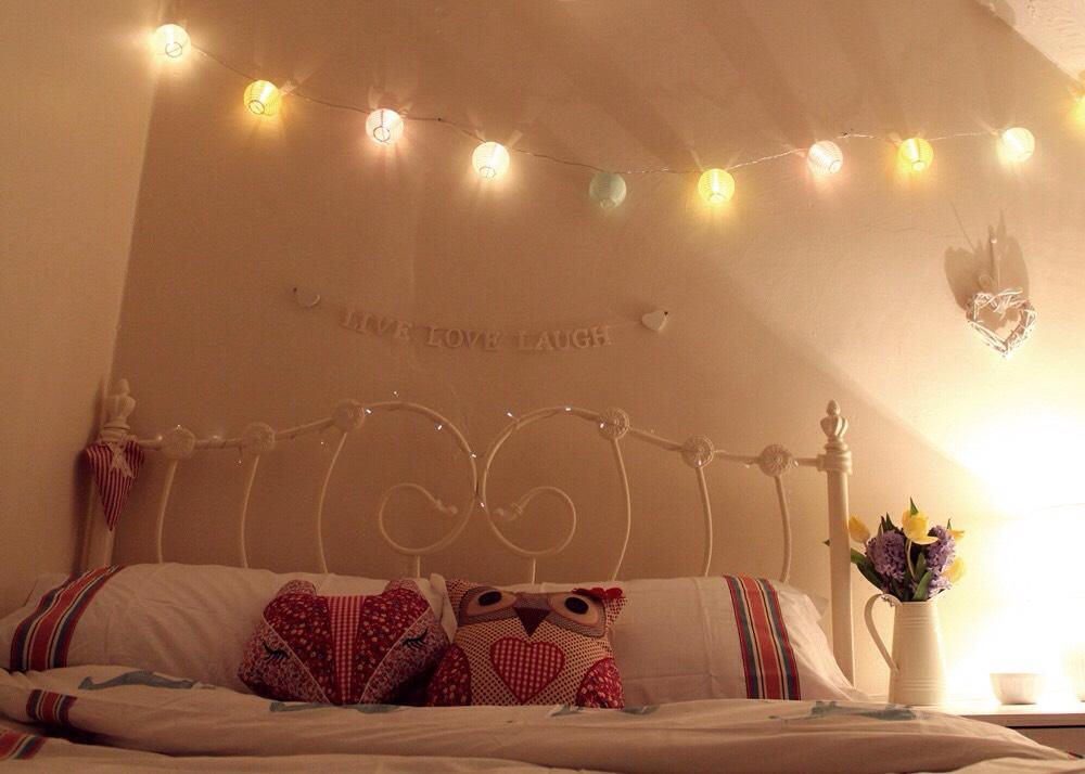 Have lanterns or fairy lights