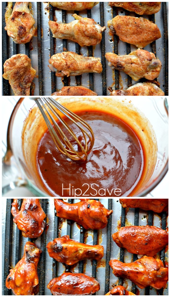 3. Pour butter mixture over wings and toss well to coat. Arrange wings in a single layer on baking sheet and bake until browned and crisp, 45 to 55 minutes.  4.Meanwhile, make the sauce: Melt butter in a small pot over medium heat. Whisk in flour. Stir in honey, Sriracha, soy sauce and lime juice.
