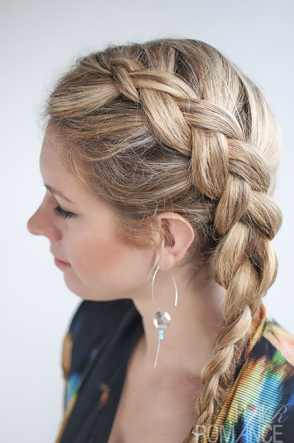 Side Braid Starting From The Roots