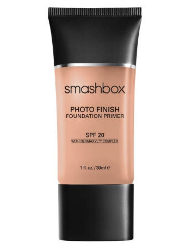 This silicone-based primer has a texture like pure silk and preps the face by smoothing out fine lines and pores to create a flawless canvas and a strong foothold for foundation. The SPF 20 protection minimizes your morning routine. $42