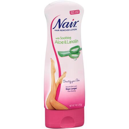 I think this one was the one i used and the smell was horrible. But i have heard that the baby oil one smells amazing. So you kind of just have to smell them at the store to see which one you like.