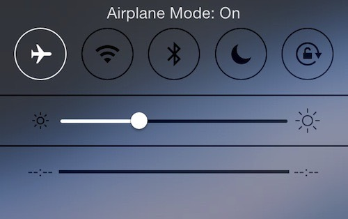 If you have slow connection on your smartphone don't restart it, just put it on airplane mode then take it off.