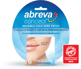 Cold sores can make your self confidence go down. Try not to put concealer on it unless you feel you really need to. Sometimes concealer can make it oily or look more noticeable. Try abreva patches for hiding. People know what cold sores are so don't try your hardest to hide it!