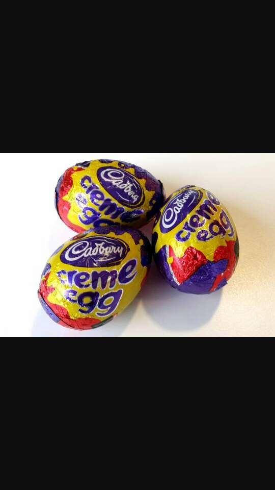 hide mini easter eggs around the house while your child is sleeping then leave a basket by their bed and when they wake up tell them the easter bunny has come and let them hunt around the house for the eggs 💞