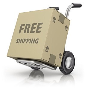 Get free shipping  Be sure to scope out the sites that offer free shipping. If your favorite site does not offer it, check out the competition.