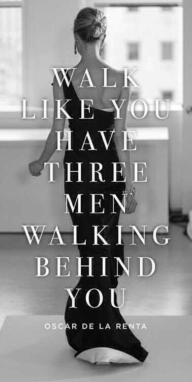 #27. Men love the way women walk. They have a certain grace and smooth rocking motion that men can always appreciate.