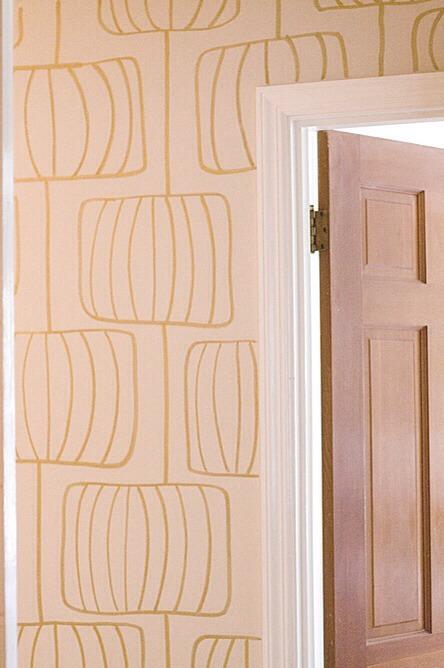 DIY Sharpie Wallpaper.