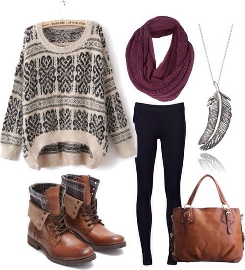 Cute outfit for winter ⛄️❄️
