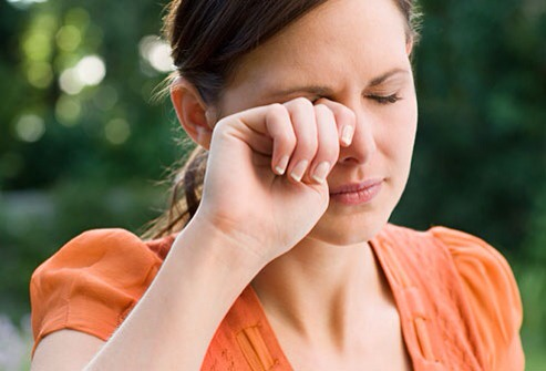 12. Don't rub your eyes If you have something in your eye then avoid rubbing it. It is a best thing to do is, to life the upper eyelid outward and gently pull it down to cover the lashes causing tears in order wash the object out of your eye.