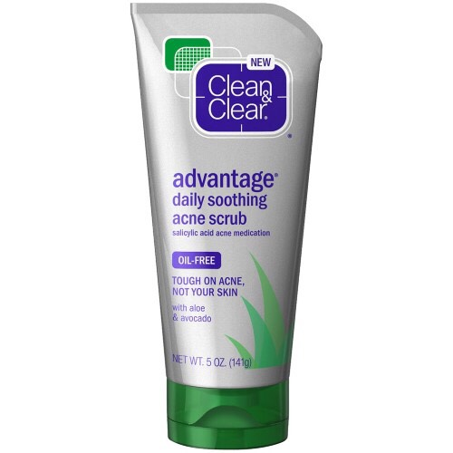 I use this day and night. It really helps to clear acne and is gentle on sensitive skin