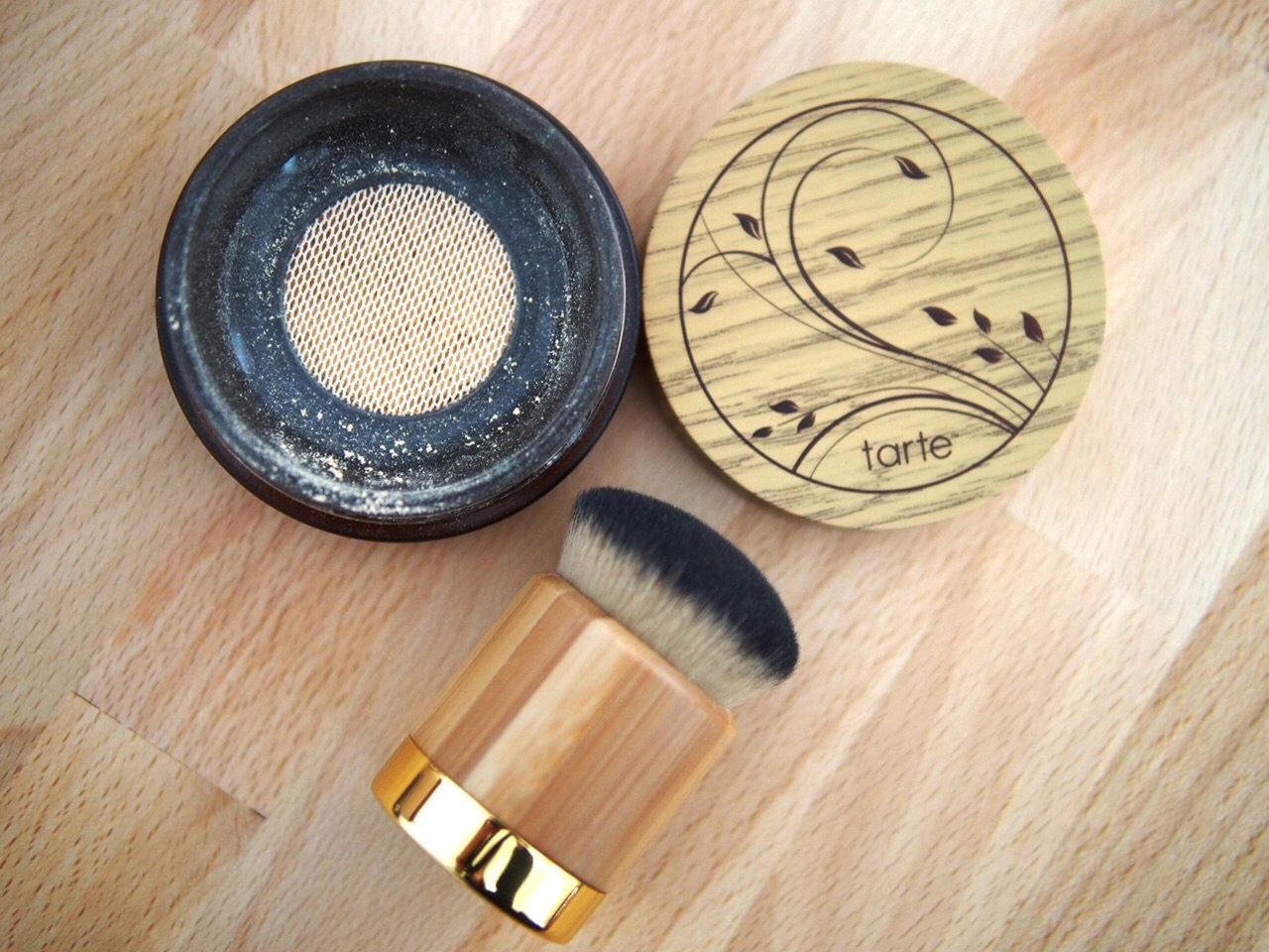 Tarte Amazonian Clay Foundation  This is one of the most full coverage foundations I have ever tried. However, despite the fact that it covers everything, it's very lightweight on the skin.