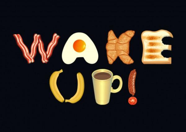 🍳Wakey wakey eggs and bacay 🍳