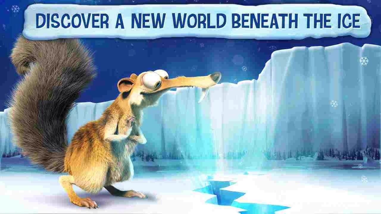 """Ice age"" FREE app that reads the story and uses the characters voices as well as a narrator! So fun!"