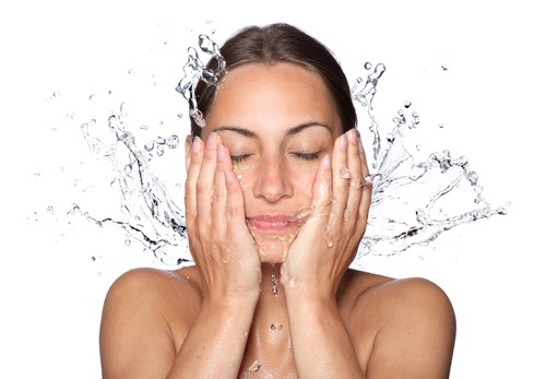 Step 3: Continue with your daily face wash routine.