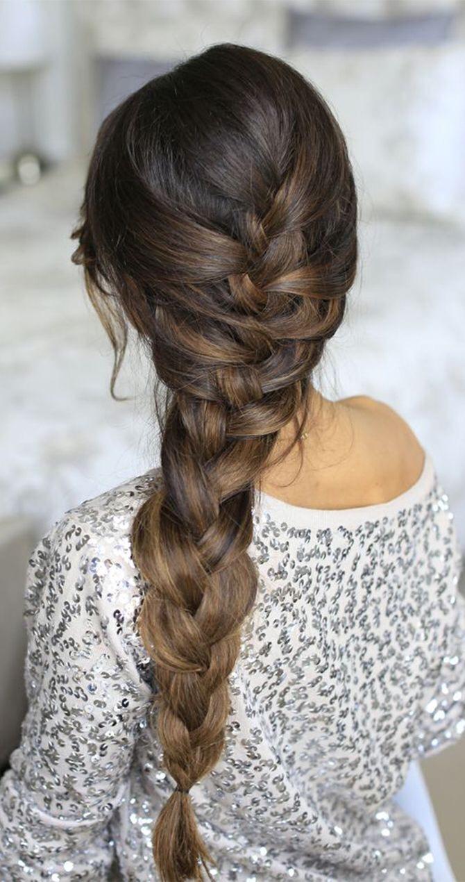4. French braid
