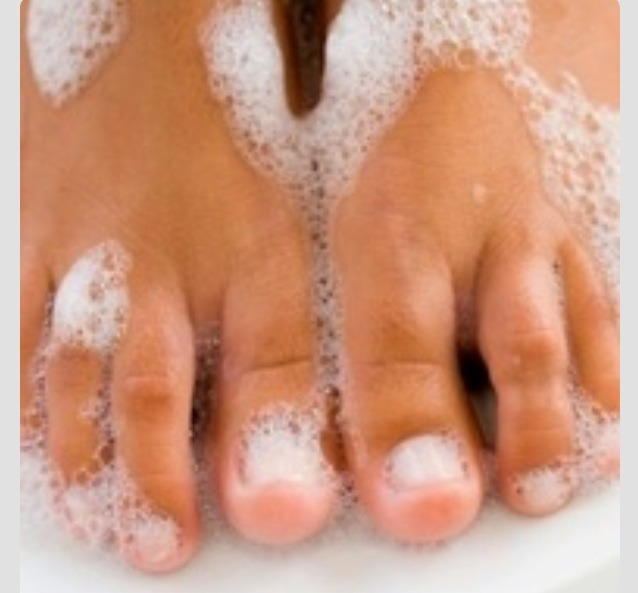 Make a paste using 1 tablespoon peroxide  2 1/4 tablespoons baking soda let it sit for 5 minutes and then you have nice white nails :) great for when you used dark nail polish!
