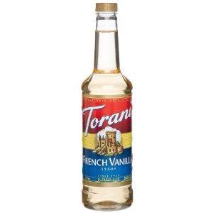 - 2 tablespoons vanilla syrup