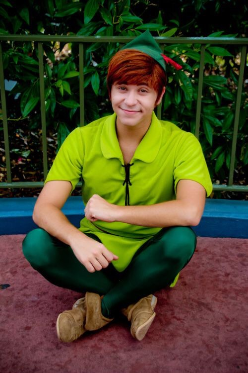 Peter Pan Located outside Peter Pan's Flight in Fantasyland.