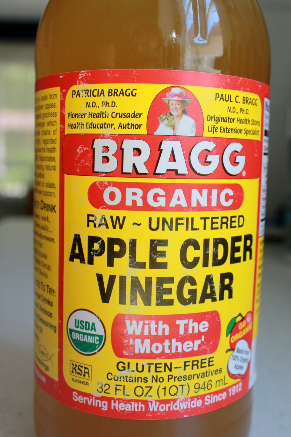 Take a shot of Apple cider vinegar. This is good for cleansing the body. People aware by it saying that this can help with sickness.