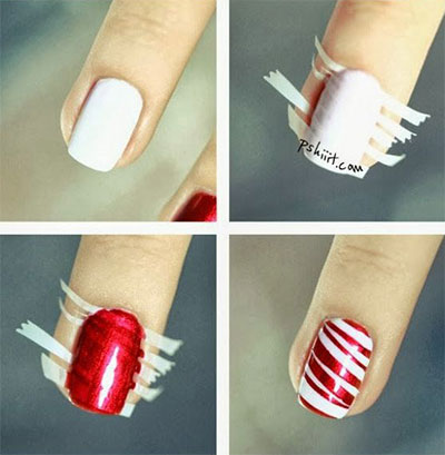 Cute Christmas Nails Step By R Selyn