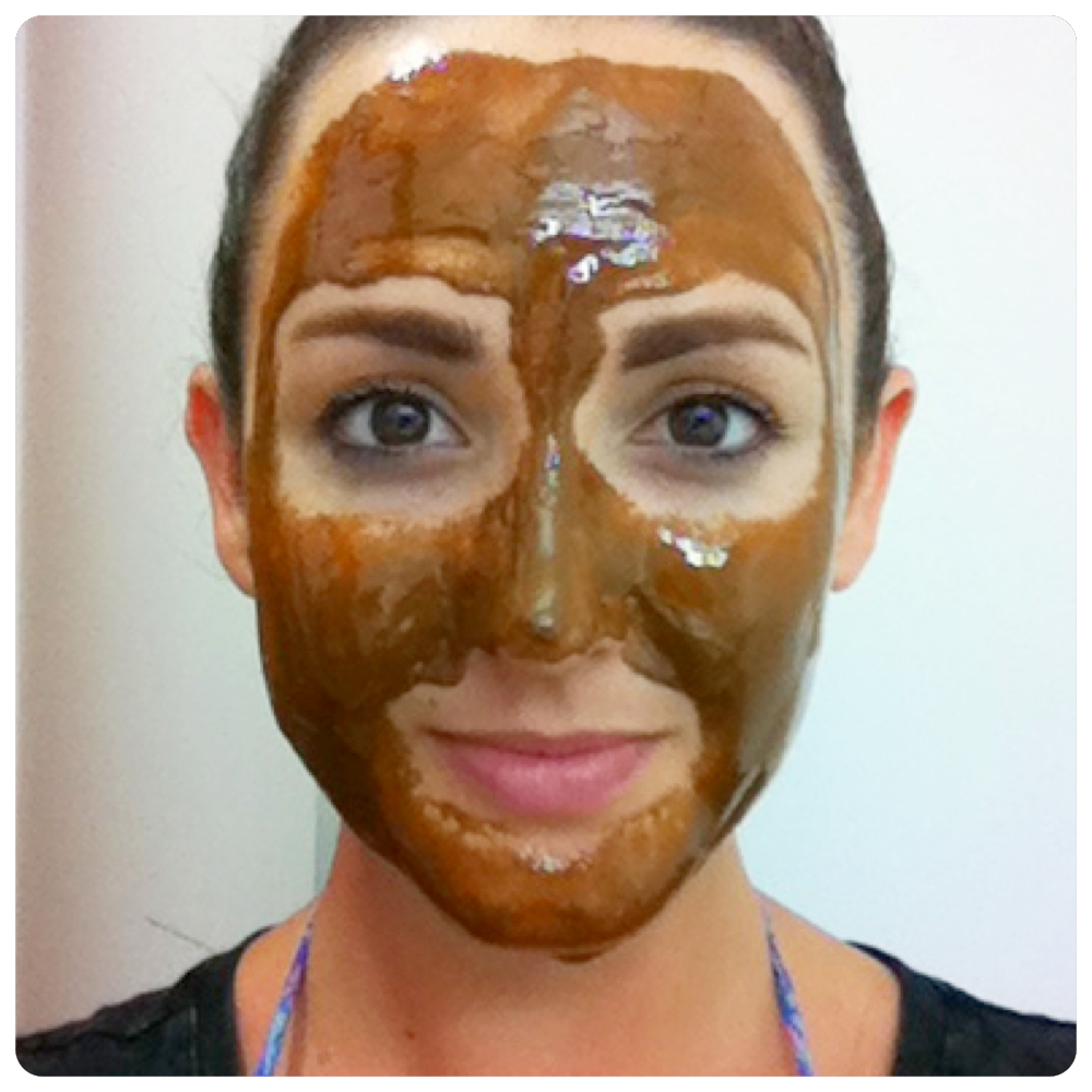 Mix together to create a paste, then apply to face, avoiding eyes. Leave on for 30 minutes.