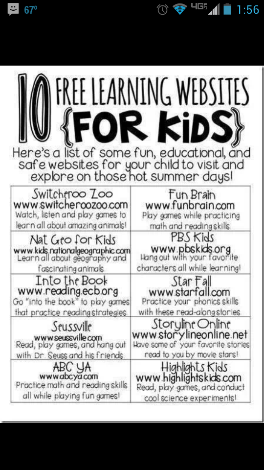 free learning sites for kids