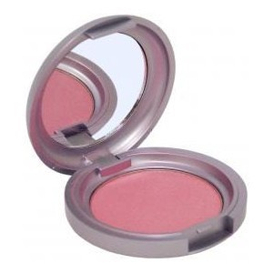 I like to use blush more than bronzer for spring and summer since it gives you a glowing look. Get a puffy brush and start to blend the blush in on the apples of you cheeks.