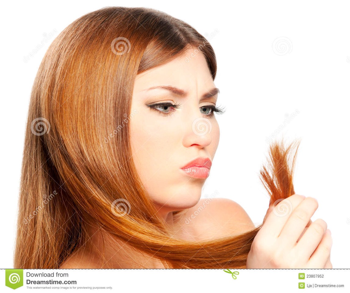 Don't use heat! And if u already have split ends mix 1 egg with 2 teaspoons of coconut oil