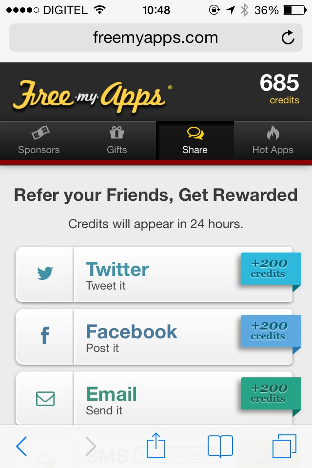 If You invite friends You can win too, You can help me If You go to this link: http://m.freemyapps.com/share/url/467db085 and enroll in freeMyApps