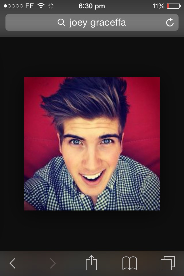 Joey graceffa (check out his video )